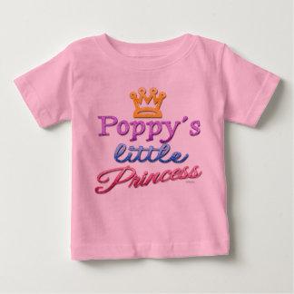 Vallmo lite Princess Behandla som ett barn Småbarn T Shirts