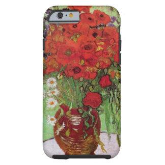 Vallmor och daisy för Van Gogh stillebenblomma Tough iPhone 6 Fodral