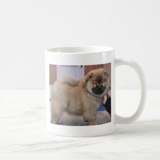 valp för chowchow kaffemugg