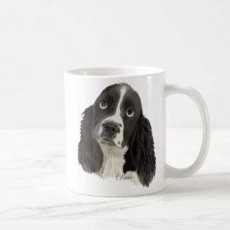 Valp för Spaniel för engelsk Springer Kaffemugg
