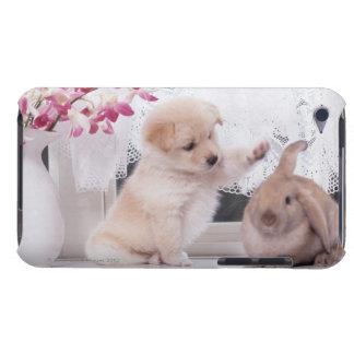 Valpen och Lop gå i ax kanin Barely There iPod Skyddande Skydd