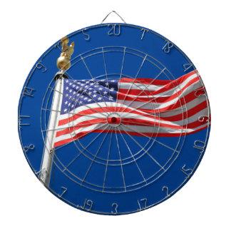 Välsigna dig Amerika, amerikanska flaggan, Darttavla