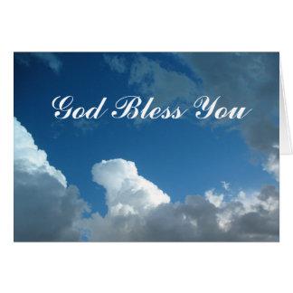 Välsigna dig som du fördunklar hälsningskort
