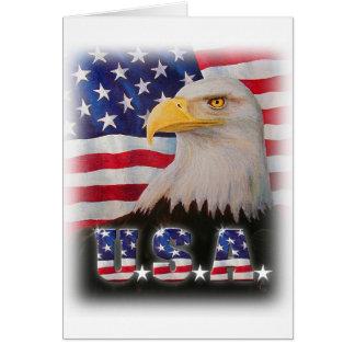 Välsigna dig USA! Hälsningskort