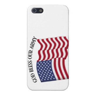 VÄLSIGNA DIG VÅR ARMÉ med US-flagga iPhone 5 Fodral