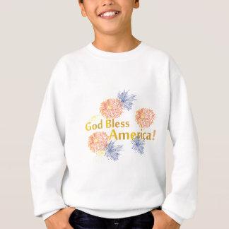 Välsigna digAmerika fyrverkerier T Shirt