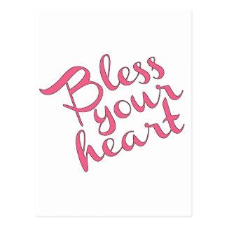 Välsigna din hjärta vykort