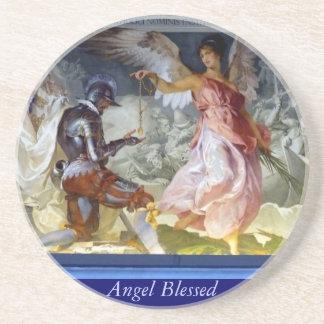 Välsignad ängel underlägg sandsten