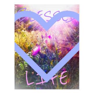 Välsignad livvykort vykort