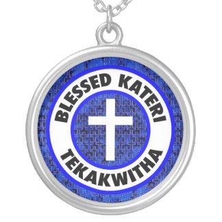 Välsignade Kateri Tekakwitha Silverpläterat Halsband