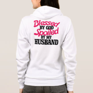 Välsignat av GUDEN som spolieras av min make T-shirt