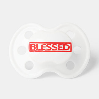 Välsignat frimärke napp