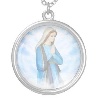 Välsignat jungfruligt Mary halsband