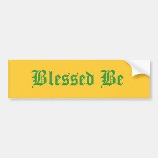 Välsignat var bildekal