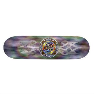 Välsignelse av inslagskateboarden skateboard bräda 19,5 cm