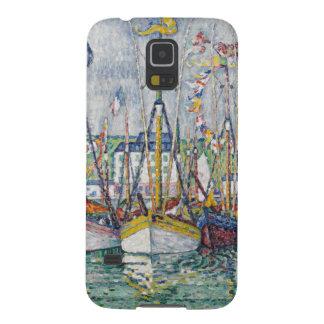 Välsignelse av tonfiskflottan på Groix, 1923 Galaxy S5 Fodral