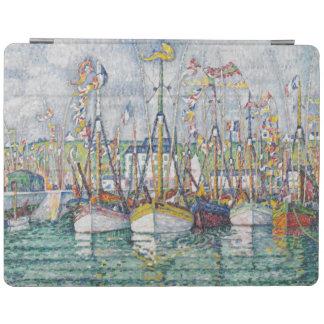 Välsignelse av tonfiskflottan på Groix, 1923 iPad Skydd