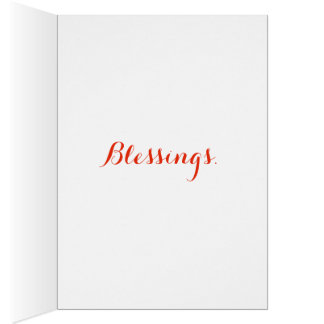 Välsignelser OBS Kort