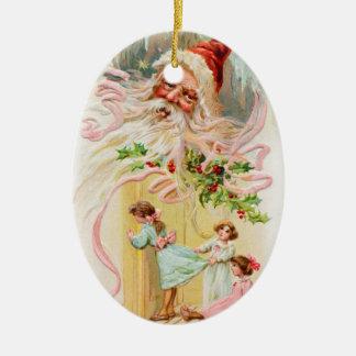 Valuegem gammal Sanktt Nick julprydnad Julgransdekoration