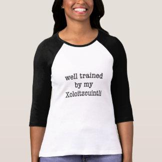Välutbildat vid min Xoloitzcuintli Tee Shirts