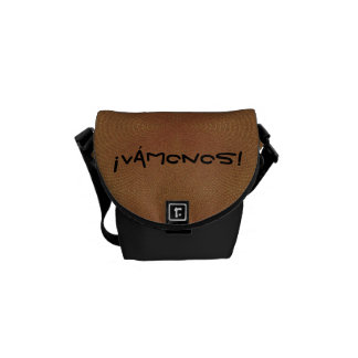 Vamonos (b) - Crossbody messenger bag