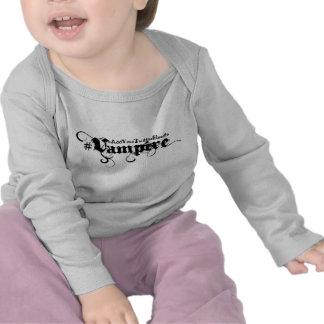 #Vampire - svart gotisk Grungespädbarnskjorta T Shirt