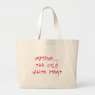 Vampyr det kalla vitköttet tygkasse