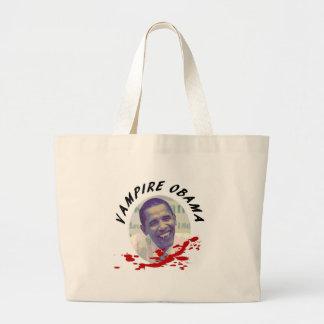 Vampyr Obama med blodsplatteren Tygkasse