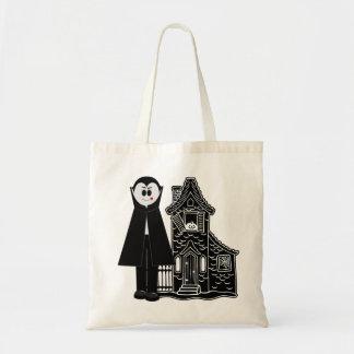 Vampyr och spökat hus budget tygkasse