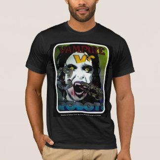 """""""Vampyr Vs. robot skjortan för amerikandräkt Tee Shirt"""