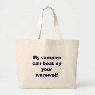 vampyr vs. werewolfs jumbo tygkasse
