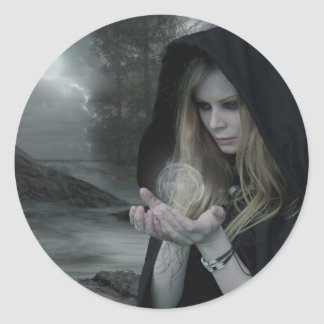 Vampyr & Witchcraft Runt Klistermärke
