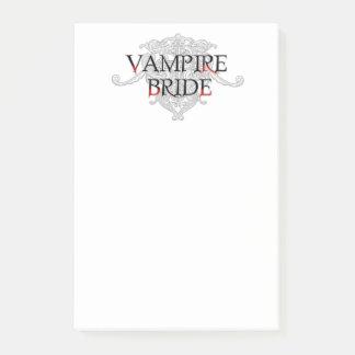 Vampyrbrud Post-it Lappar