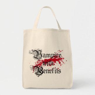 Vampyren med gynnar mat tygkasse