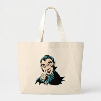 Vampyren önskar dig tote bags