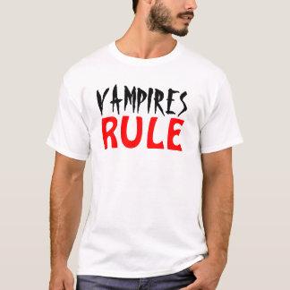 Vampyrer härskar t-shirt