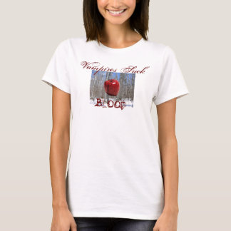 Vampyrer suger blod t-shirt