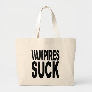 Vampyrer suger jumbo tygkasse