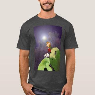 Vampyrfladdermöss med kaktusen t shirt