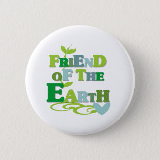 Vän av jorden standard knapp rund 5.7 cm