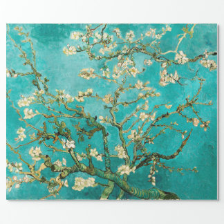 Van Gogh blom- mandelträd Presentpapper