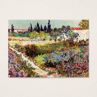 Van Gogh blommarträdgård på Arles blommigtkonst
