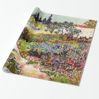 Van Gogh blommarträdgård på Arles blommigtkonst Presentpapper