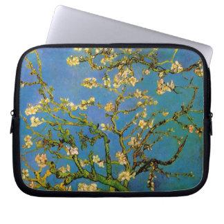 Van Gogh Blomstra mandelträd vintageblommor Datorskydds Fodral