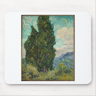 Van Gogh Cypresses Musmatta