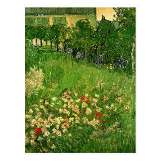 Van Gogh Daubignys trädgård, vintagekonst Vykort