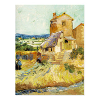 Van Gogh - de gammala mal (1888) Vykort