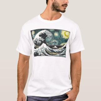 Van Gogh den Starry natten - Hokusai som Tröja