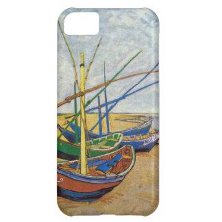Van Gogh fiskebåtar på stranden iPhone 5C Fodral