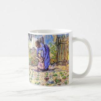 Van Gogh - första steg Mugg